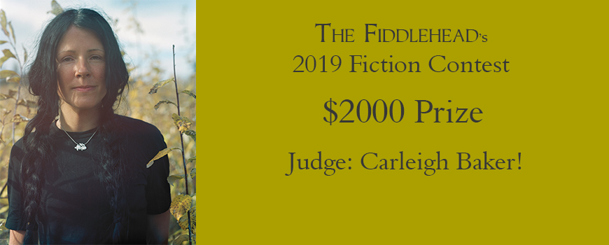 The Fiddlehead's literary contest | The Fiddlehead