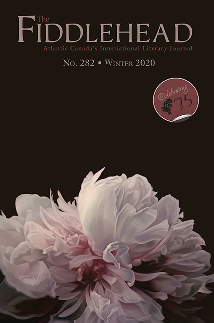 Cover of The Fiddlehead Issue 282 Winter 2020