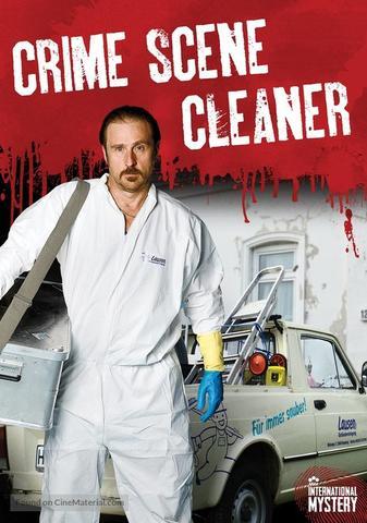 "Image for tv show ""Der Tatortreiniger"" translated as ""Crime Scene Cleaner"""